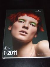 Schwarzkopf & Essential Looks IGORA Colour Collection 1/2011 catalog+2 DVDs NEW