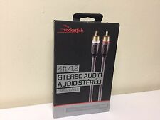 Rocketfish RF-G1210-C 4FT Stereo Audio Cable - NEW