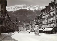 Autriche, Innsbruck, Maria-Theresienstrasse  Vintage print  Photomécanique