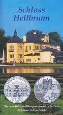 Österreich 10 Euro 2004 Silber Schloss Hellbrunn hgh im Blister