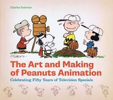 ART & MAKING OF PEANUTS ANIMATION - 50 YEARS TV SPECIALS (HC-2012)