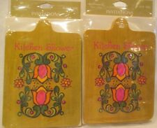16 VINTAGE 1960-70's HALLMARK KITCHEN SHOWER INVITATIONS SCANDINAVIAN 💕 NOS