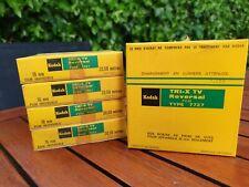 Kodak Tri -X TV réversible type 7727 16mm Ciné Film (périmé 1967)