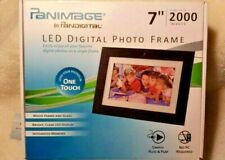 "Panimage 7"" LED Digital Photo Frame New Open Box (Factory Sealed In Package) NEW"