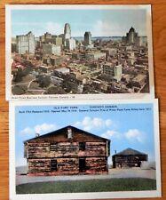Vintage 2 Postcards Toronto Canada 1915-1930  F325