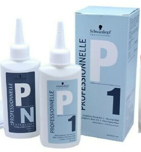 Schwarzkopf PROFESSIONNELLE P1 COMPLETE PERM KIT 1 - NORMAL HAIR PERM LOTION