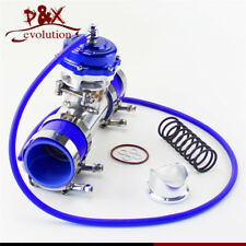 "35PSI Boost 50mm Turbocharge Blow Off Valve BOV + 2"" Flange Pipe Hose Kit"