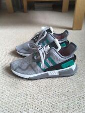 Men's Women's Adidas Equipment Grey Green Trainers Runners Flats Size 4/37 £140