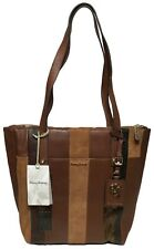 NWT Tommy Bahama Exumas Top-Zip Leather Tote, Neutral Color, MSRP: $248.00