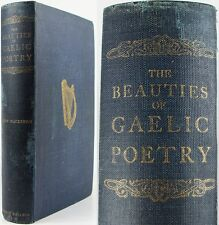 SÀR OBAIR*BEAUTIES OF GAELIC POETRY*SCOTTISH HIGHLAND*1904*MACKENZIE*NEW EDITION
