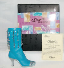 Just The Right Shoe by Raine Shoe Miniatures- Groovy Baby