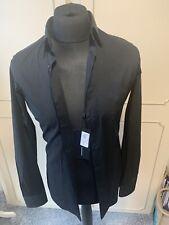 Stunning BNWT J Lindberg Mens Black Shirt 15 Neck 38 Chest. £105 NEW.