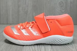 58 New Adidas Adizero Javelin Field Event Spikes Orange EE4621 Mens Size 9