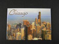 Chicago Souvenir Foto Magnet groß  9 cm USA Amerika,Neu,Sears Towers