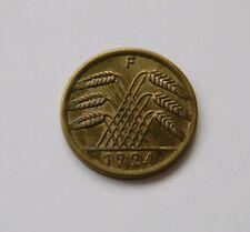 WEIMAR: 50 Rentenpfennig 1924 F, J. 310, vorzüglich+ !!!
