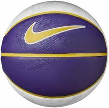 Nike Lebron Playground Basketball Full Size 7 Outdoor Ball White Yellow Purple