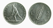 pci3631) Italia Repubblica in Italma - 2 lire 1949 Spiga