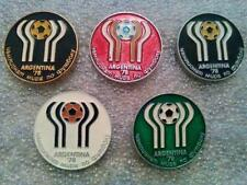 old pin World Cup 1978 Argentina - set 5 pins