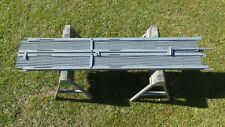 Double Folding scissor SECURITY GATE 11'W x 7.5'H, Industrial COMMERCIAL