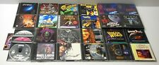 PC Game Lot Warcraft Star Wars Space Police King's Quest Sega Sonic Mechwarrior
