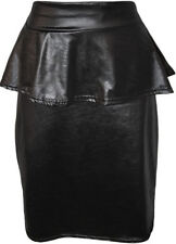 Polyester Party Patternless Regular Size Skirts for Women