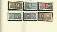POLAND 1961 SCOTT 979-84 MNH