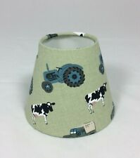 CANDLE LAMPSHADE HANDMADE IN UK -  SOPHIE ALLPORT ON THE FARM FABRIC