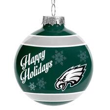 Philadelphia Eagles Glass Ball Ornament Christmas Holidays NFL 962b3b17b