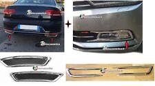 VW Passat B8 15> Limousine Variant  Auspuffrahmen+Nebelscheinwerfer Rahmen chrom