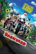 BARNYARD Movie POSTER 27x40 D Kevin James Maria Bamford Courteney Cox Earthquake