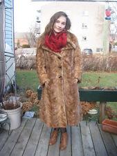 #G15 VINTAGE must have it blond mink fur coat fit size 6 /8 fur ever so soft