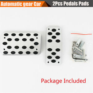 Non-slip Automatic Gear AT Car Gas Brake Foot Pedals Cover For Ford Toyota BMW