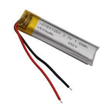 3.7V 500 mAh Polymer Li Battery Lipo Cell For GPS  Mobile Phone Tablet PC 801350