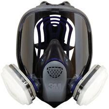 3M, 7 IN 1, FF-402 Full Face Reusable Respirator For Spraying & Painting, MEDIUM