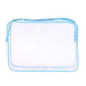 1pc Travel Storage Bag Waterproof Cosmetic Bags PVC Unisex Rectangle Transparent
