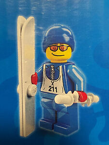LEGO 8684 Minifigures Series 2 Skier New