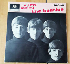 """The Beatles 'All my Loving' 4 songs Mono 7"""" 45RPM vinyl EP with Center 8891 UK"""