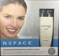 NuFace Advanced Microcurrent Device, Facial Toning & Lifting, New In Open Box