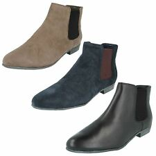 Clarks Suede Slip On Boots for Women