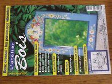 $$$ Revue L'atelier Bois N°40 Plan mobile cuisineAvions en boisPoncage