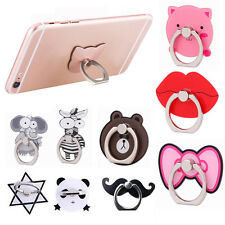 Cartoon Finger Ring Holder Stand Mount For iPhone 7 Samsung Cell Phone Universal