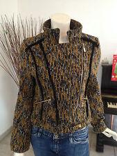 JUST ADDICT, originale veste courte, taille 36