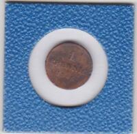 1 Pfennig Bayern 1846 Ludwig I Bavaria