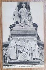 POSTCARD: LONDON, ALBERT MEMORIAL, COMMERCE: c1914-18
