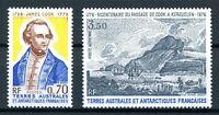 franz. Antarktis MiNr. 111-12 postfrisch MNH James Cook (N767
