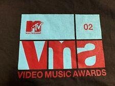 Vintage MTV Video Music Awards 2002 Crew Shirt, Sz XL