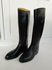 WOMEN'S STYLO LONG RIDING BOOTS RUBBER SIZE 5.5 EXC COND / WORN ONCE