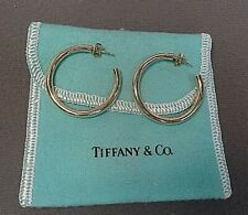 Tiffany & Co 18k Hoop Earrings 34mm