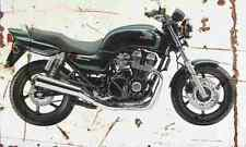 Honda CB750F2 SevenFifty 1998 Aged Vintage Photo Print A4 Retro poster