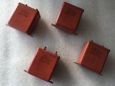 20uF 160V  MBGO 2   Qty 4  МБГО-2 Paper in OIL PIO Audio Capacitors NOS